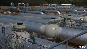 Трубы газопровода Eugal