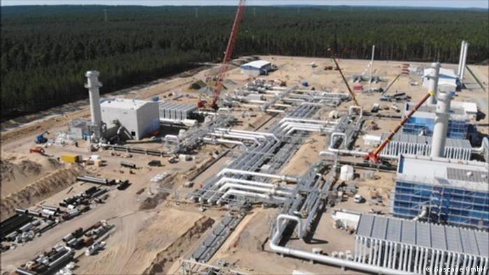 Строительство газопроовода Eugal