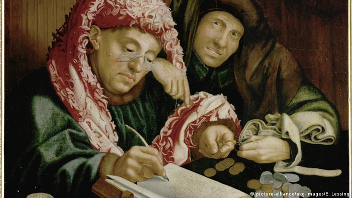 Gemälde Roymerswaele Zwei Steuereinnehmer