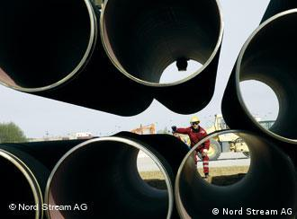 Pipes for Nord Stream pipeline
