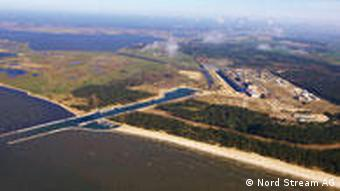 Energie Hub Lubmin bei Greifswald (Foto: Nord Stream AG)