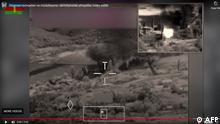 Videostill vom Kampf an der Grenze zwischen Aserbaidschan und Armenien