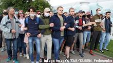 Belarus | Proteste zur Unterstützung des ehemaligen Präsidentschaftskandidaten Viktor Babariko