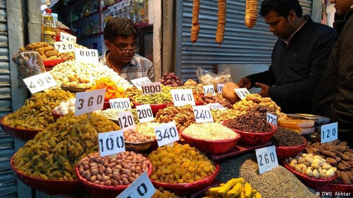 India Delhi | Gewürzmarkt (DW/J. Akhtar)