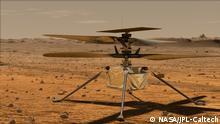 USA NASA Mars Helikopter