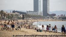 Spanien Corona-Pandemie Barcelona