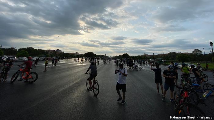 Tur sepeda kini menjadi tren di India (Gurpreet Singh Kharbanda)