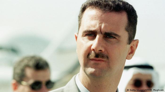 Syrien Bashar Al-Assad 1999 (Getty Images/AFP/R. Moghrabi)