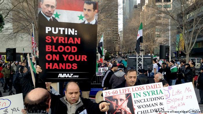 USA Protest UN-Sicherheitsrat Syrien