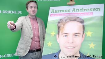 Ο νεαρός ευρωβουλευτής των Πρασίνων Ράσμους Άντρεσεν