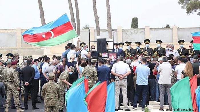 Aserbaidschan Begräbnis Polad Gashimov