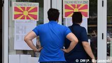 Wahlen in Nordmazedonien Skopje, 15.07.2020 Fotograf: Korrespondent Petr Stojanovski.