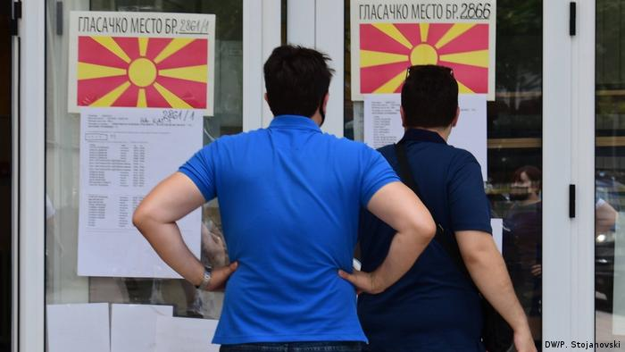 Nordmazedonien Parlamentswahl in Skopje