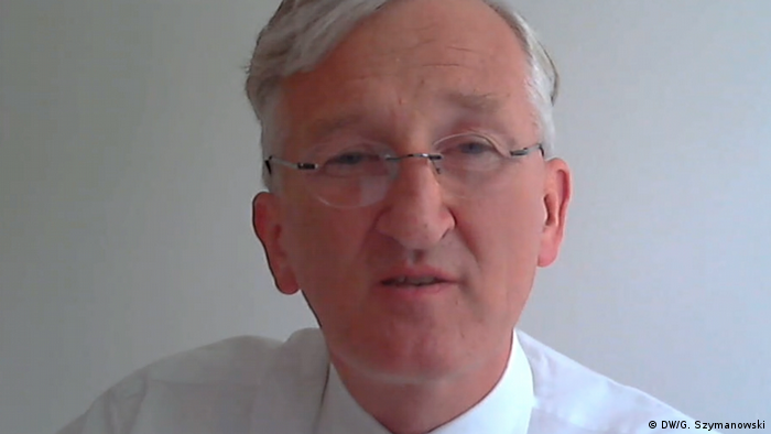 Screenshot Skype Interview | Frederic Seebohm