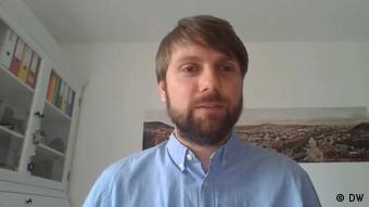 Marco Fieber setzt sich für politische Gefangene in Weißrussland ein