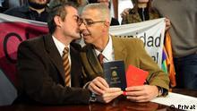 Argentinien Hochzeit von Cesar Cigliutti und Marcelo Suntheim