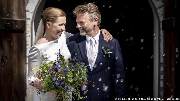 Mette Frederiksen wedding