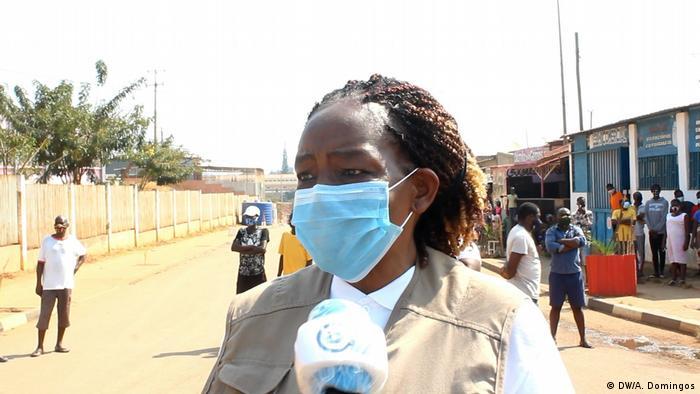 Angola Coronavirus Filomena Wilson Leiterin Gesundheitsbehörde in Kwanza Norte