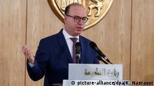 Elyes Fakhfakh, Tunesischer Regierungschef reicht Rücktritt ein