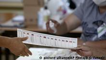 Nordmazedonien Wahlen