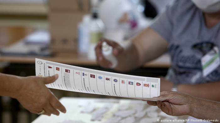 Nordmazedonien Wahlen (picture-alliance/AP Photo/B.Grdanoski)