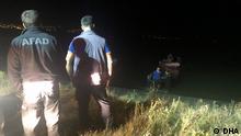 Türkei Van Flugzeugabsturz Suche nach den Toten am Vansee