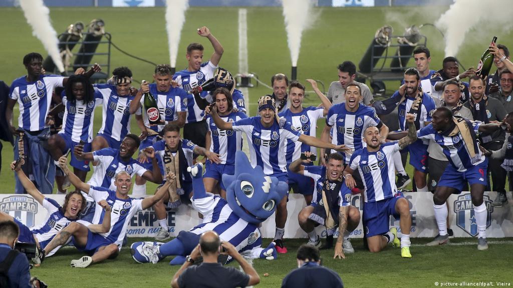Portugal Fc Porto E Campeao Nacional 2019 2020 Internacional Alemanha Europa Africa Dw 16 07 2020