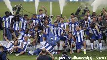 FC Porto feiert den 29. Meistertitel in seiner Klubgeschichte Fußball Portugal