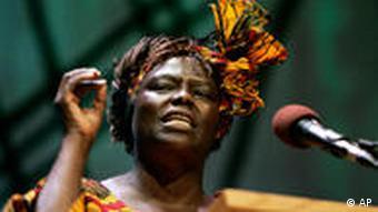 Wangari Maathai of Kenya