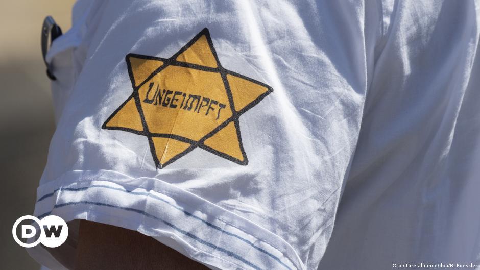 Ban mock Jewish star at COVID protests, German anti-Semitism czar urges