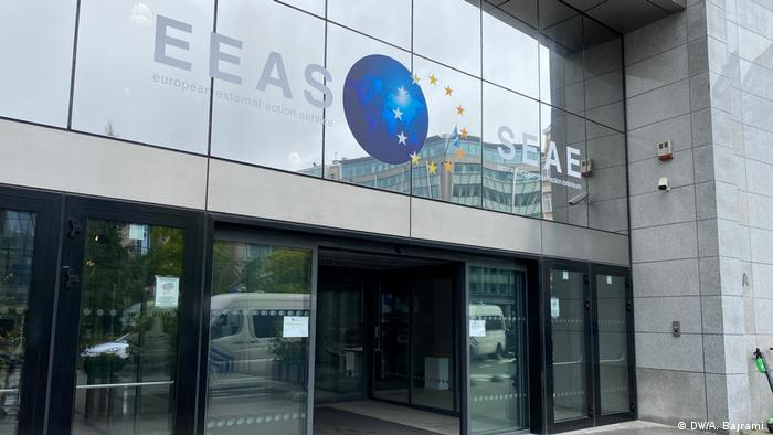 Здание Европейской службы внешних связей в Брюсселе