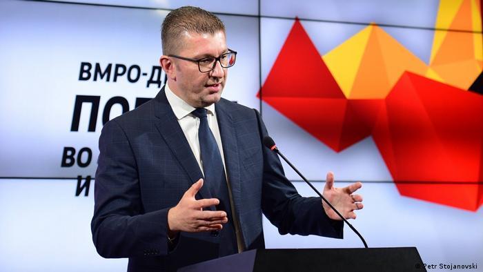 Nordmazedonien Wahlen Hristijan Mickoski VMRO-DPMNE Partei