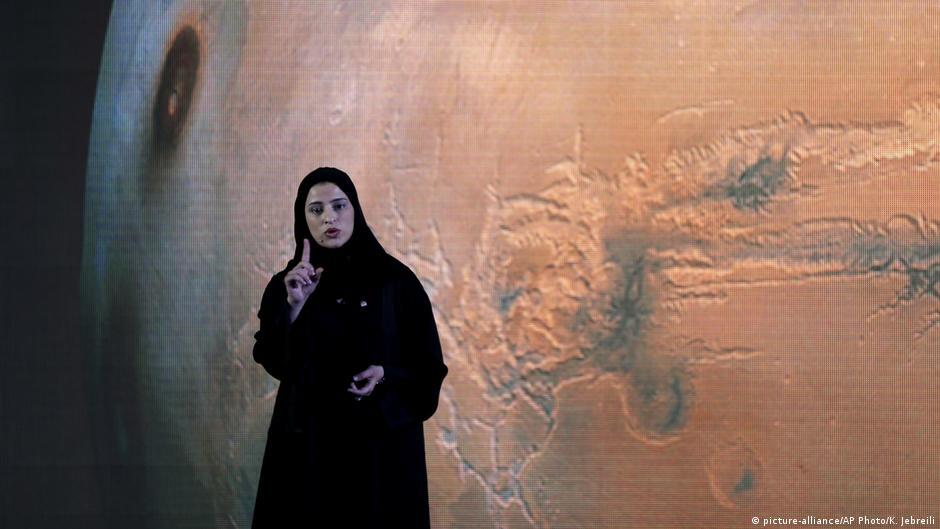 Sarah al-Amiri: The woman leading UAE's Mars mission