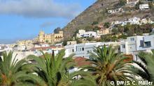 Santa Cruz de Tenerife. Blick vom Hotel.
