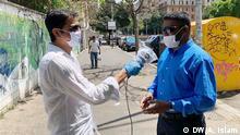 Khaled Muhiuddin von DW Bangla besucht Rom