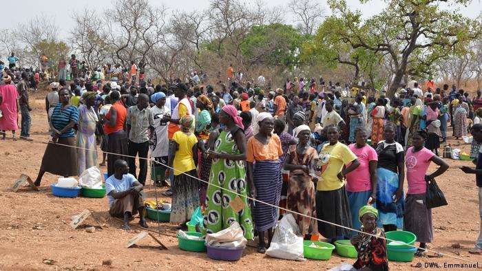 Uganda Flüchtlingslager Palorinya Südsudan (DW/L. Emmanuel)