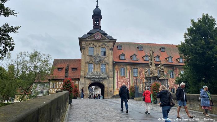 DW COVID Travel Diaries |Gordine & Zivkovic |Bamberg (DW/Emily Gordine & Olivera Zivkovic)