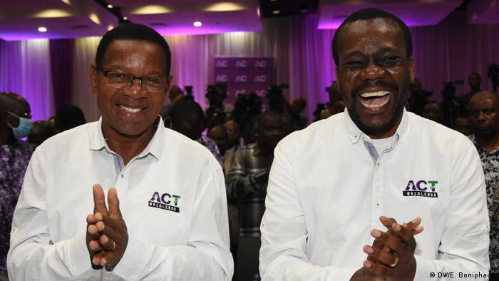 Tansania Opposition Bernard Membe und Maalim Seif Sharif Hamad