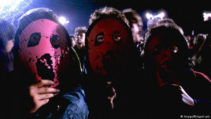 Fanáticos de Pink Floyd en el legendario concierto de hace 30 años