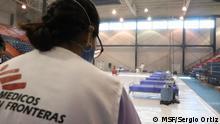 Mexiko Coronavirus Ärzte ohne Grenzen Behandlungszentrum in Matamoros