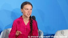 Greta Thunberg schwedische Klimaaktivistin