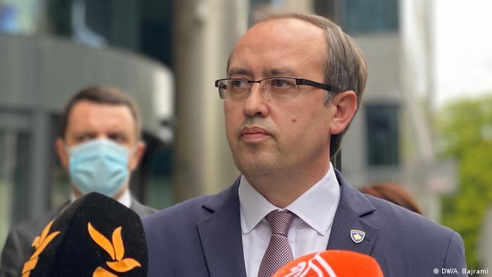 Belgien | Dialog Kosovo in Brüssel (DW/A. Bajrami)