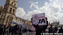 Bolivien I Proteste gegen Kürzungen in La Paz