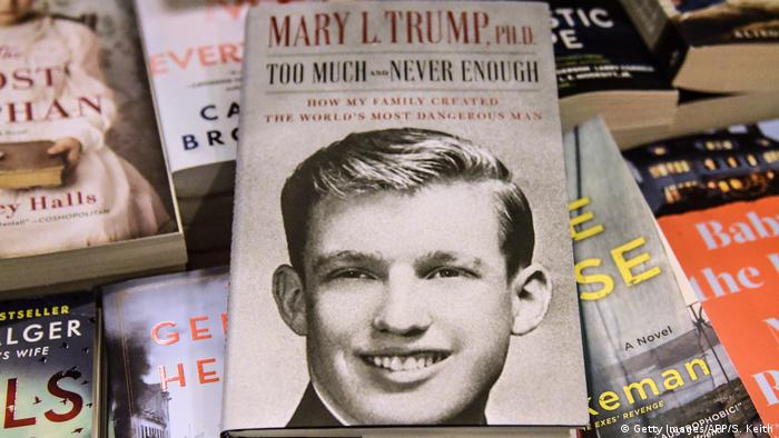 Mary Trump's new book about US President Donald Trump