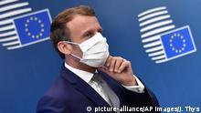 Belgien Brüssel EU-Gipfel | Emmanuel Macron