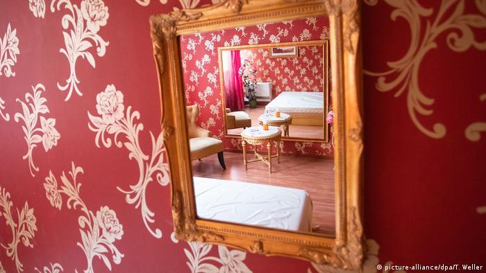 Комната борделя в Карлсруэ
