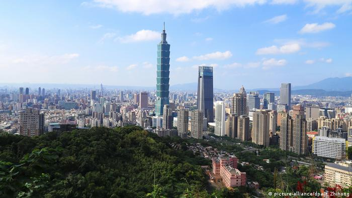 Taiwan Taipeh Skyline (picture-alliance/dpa/Y. Zhihong)