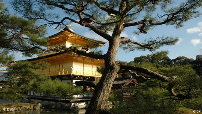 Goldener Pavillion in Kyoto (DW)