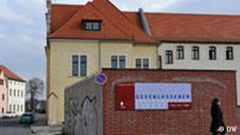 Das Gebäude des ehemaligen Jugendwerkhofes in Torgau (Foto: DPA)