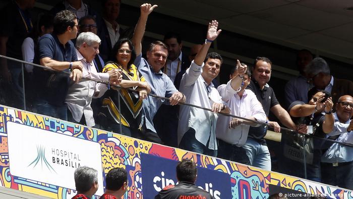 Brasilien Super Cup - Flamengo v Athletico | Jair Bolsonaro